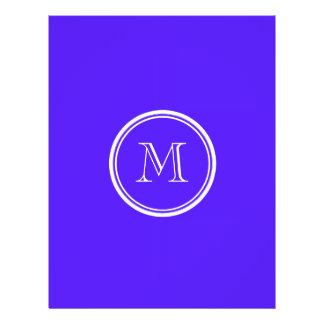 Han Purple High End Colored Monogram Flyer