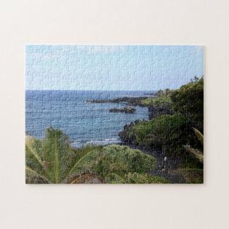 Hana Highway Beach, Maui, Hawaii Jigsaw Puzzle