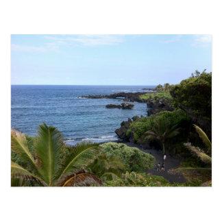 Hana Highway Beach, Maui, Hawaii Postcard