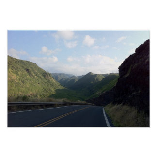 Hana Highway, Maui, Hawaii Poster