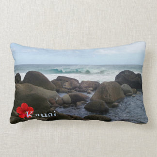 Hanakapi' ai Beach Lumbar Cushion