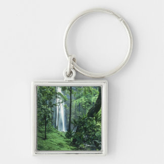 Hanakapiai Falls along the Na Pali Coast, Kauai, Key Ring