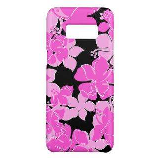Hanalei Hawaiian Hibiscus Floral Pink Case-Mate Samsung Galaxy S8 Case
