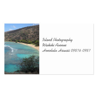 Hanauma Bay from the Cliffs Pack Of Standard Business Cards