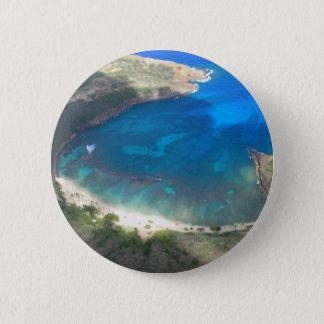 Hanauma Bay Hawaii 6 Cm Round Badge