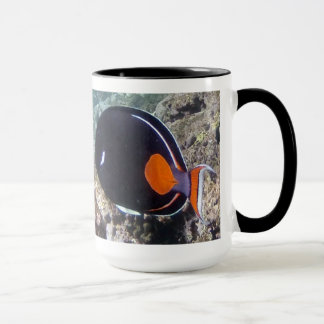 Hanauma Bay Hawaii - Achilees Tang Fish Mug