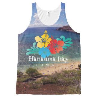 Hanauma Bay Hawaii All-Over Print Singlet