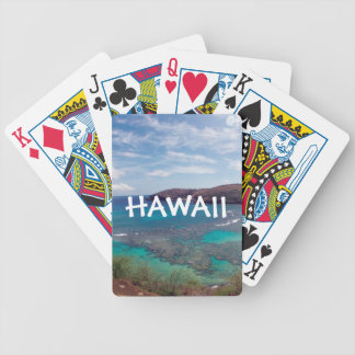 Hanauma Bay Hawaii Bicycle Playing Cards