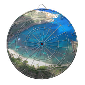 Hanauma Bay Hawaii Dartboard