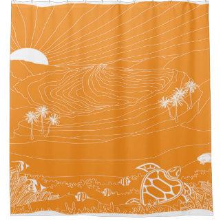 Hanauma Bay Hawaii - Day Shower Curtain