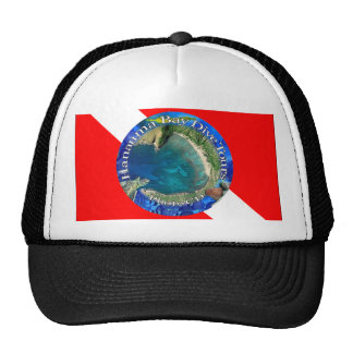 Hanauma Bay Hawaii Dive Flag Cap