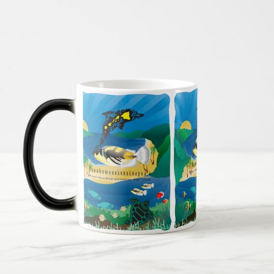 Hanauma Bay Hawaii Humuhumunukunukuapua'a Fish Magic Mug