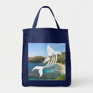 Hanauma Bay - Hawaii Islands - Whale Tote Bag