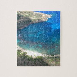 Hanauma Bay Hawaii Jigsaw Puzzle