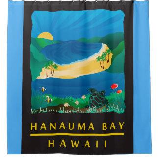Hanauma Bay Hawaii Shower Curtain