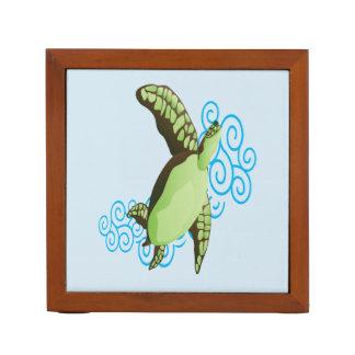 Hanauma Bay Hawaii Turtle Desk Organiser