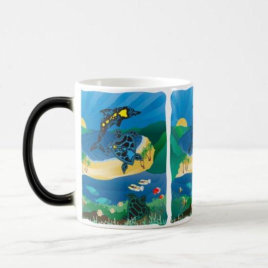 Hanauma Bay Hawaii Turtle Islands Magic Mug