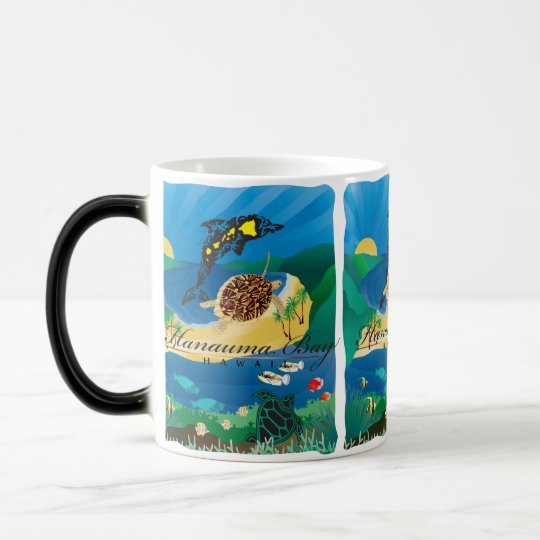 Hanauma Bay Hawaii Turtle Magic Mug
