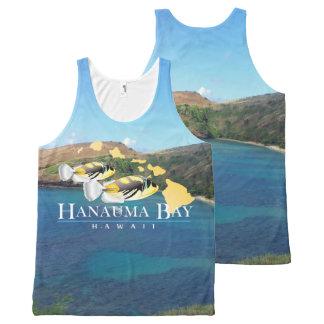 Hanauma Bay Hawaiin All-Over Print Singlet