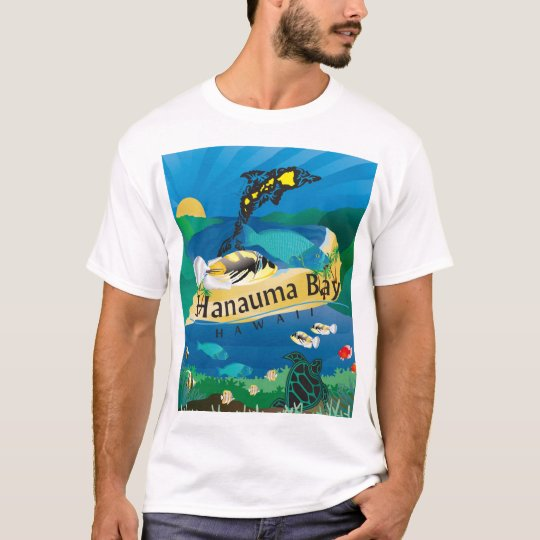Hanauma Bay Oahu Hawaii Humuhumunukunukuapua'a T-Shirt