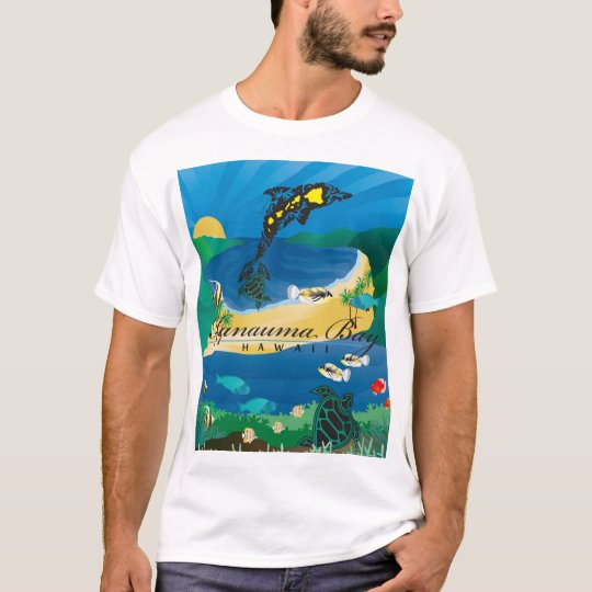 Hanauma Bay Oahu Hawaii Islands T-Shirt