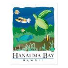 Hanauma Bay Oahu Hawaii Postcard