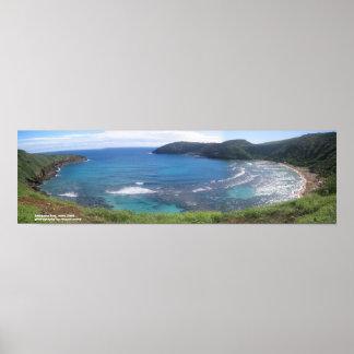 Hanauma Bay, Oahu Poster