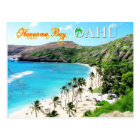 Hanauma Bay, Oahu - Snorkeler's Paradise Postcard