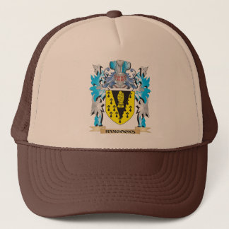 Hancocks Coat of Arms - Family Crest Trucker Hat