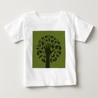Hand a tree3 baby T-Shirt