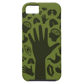 Hand a tree3 iPhone 5 cover