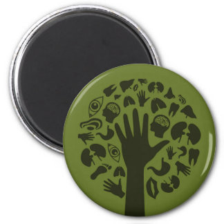 Hand a tree3 magnet