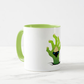 hand art mug
