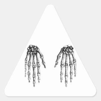 Hand bones sticker