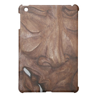 Hand-carved Mask iPad Mini Cases