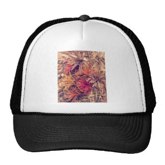 Hand carved wooden Forever flowers Cap