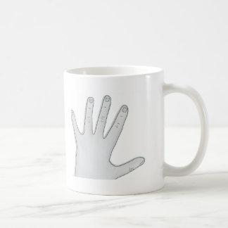 Hand Coffee Mug