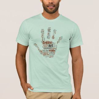 'Hand' designed Pottery Art T T-Shirt