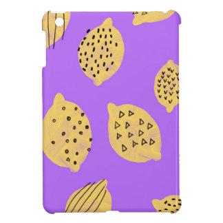 Hand drawing Lemon Fruit iPad Mini case