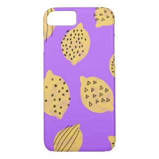 Hand drawing Lemon Fruit iPhone 7 case