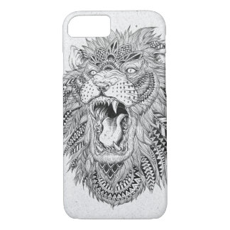 Hand Drawn Abstract Lion Vector Illustration iPhone 8/7 Case