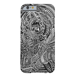 Hand-drawn Abstract Tribal Crazy Doodle Barely There iPhone 6 Case