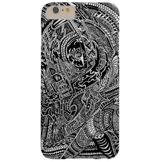 Hand-drawn Abstract Tribal Crazy Doodle Barely There iPhone 6 Plus Case