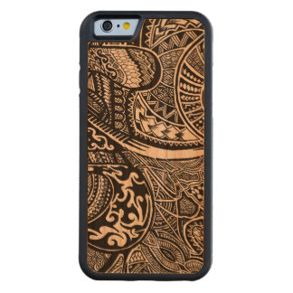 Hand-drawn Abstract Tribal Crazy Doodle Cherry iPhone 6 Bumper