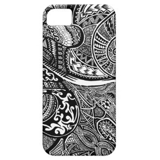 Hand-drawn Abstract Tribal Crazy Doodle iPhone 5 Cover