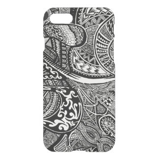 Hand-drawn Abstract Tribal Crazy Doodle iPhone 7 Case