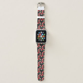 Hand Drawn Abstract Watermelon Pattern Apple Watch Band