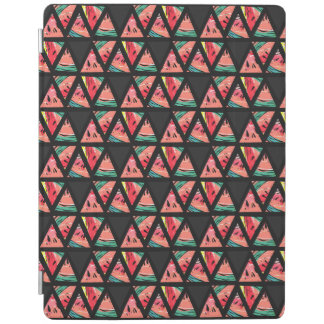 Hand Drawn Abstract Watermelon Pattern iPad Cover