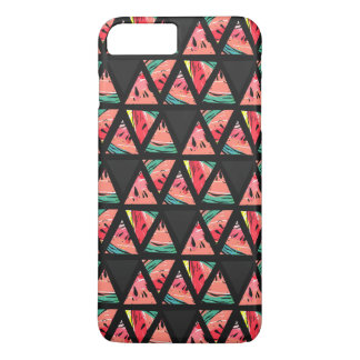 Hand Drawn Abstract Watermelon Pattern iPhone 8 Plus/7 Plus Case