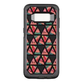 Hand Drawn Abstract Watermelon Pattern OtterBox Commuter Samsung Galaxy S8 Case